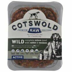 Cotswold RAW Active Rabbit & Wild Venison 500g
