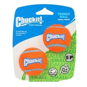 Chuckit Tennis Ball 2 Pack Small 4.8cm