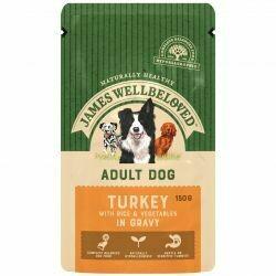 James Wellbeloved Adult Turkey Pouch 150g x 40 Mega Pack