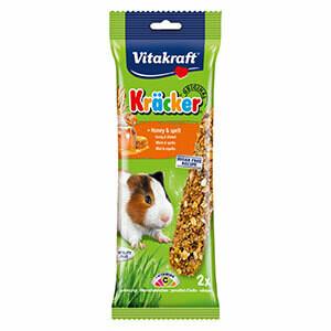 Vitakraft Guinea Pig Stick Kracker Honey and Spelt 112g (2 pieces)