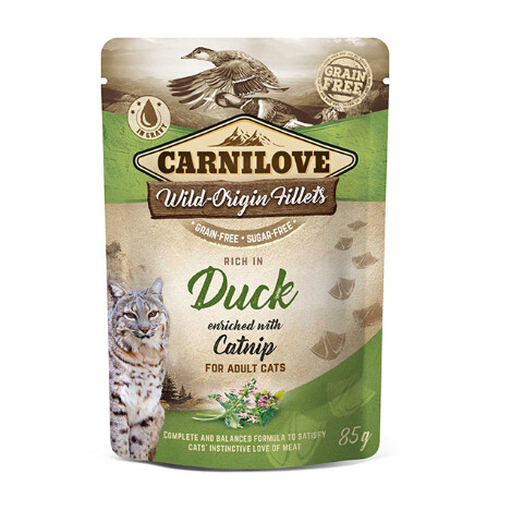 Carnilove Duck with Catnip 85g