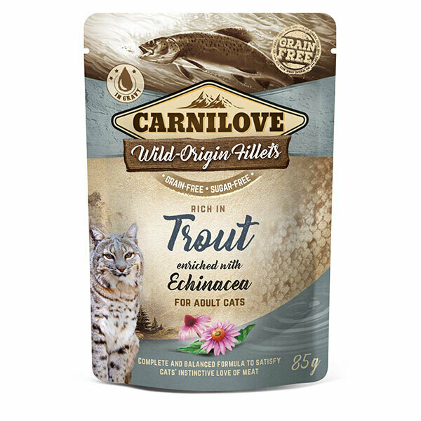 Carnilove Trout with Echinacea 85g