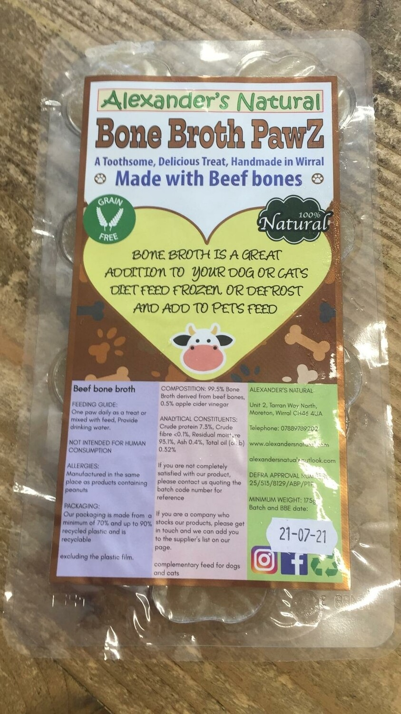 Alexander Natural - Bone Broth Paws - Chicken (7pcs)