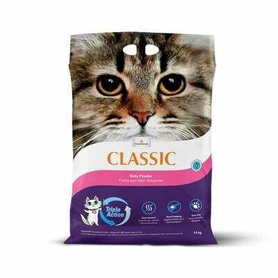 Intersand Classic Cat Litter Baby Powder 14kg