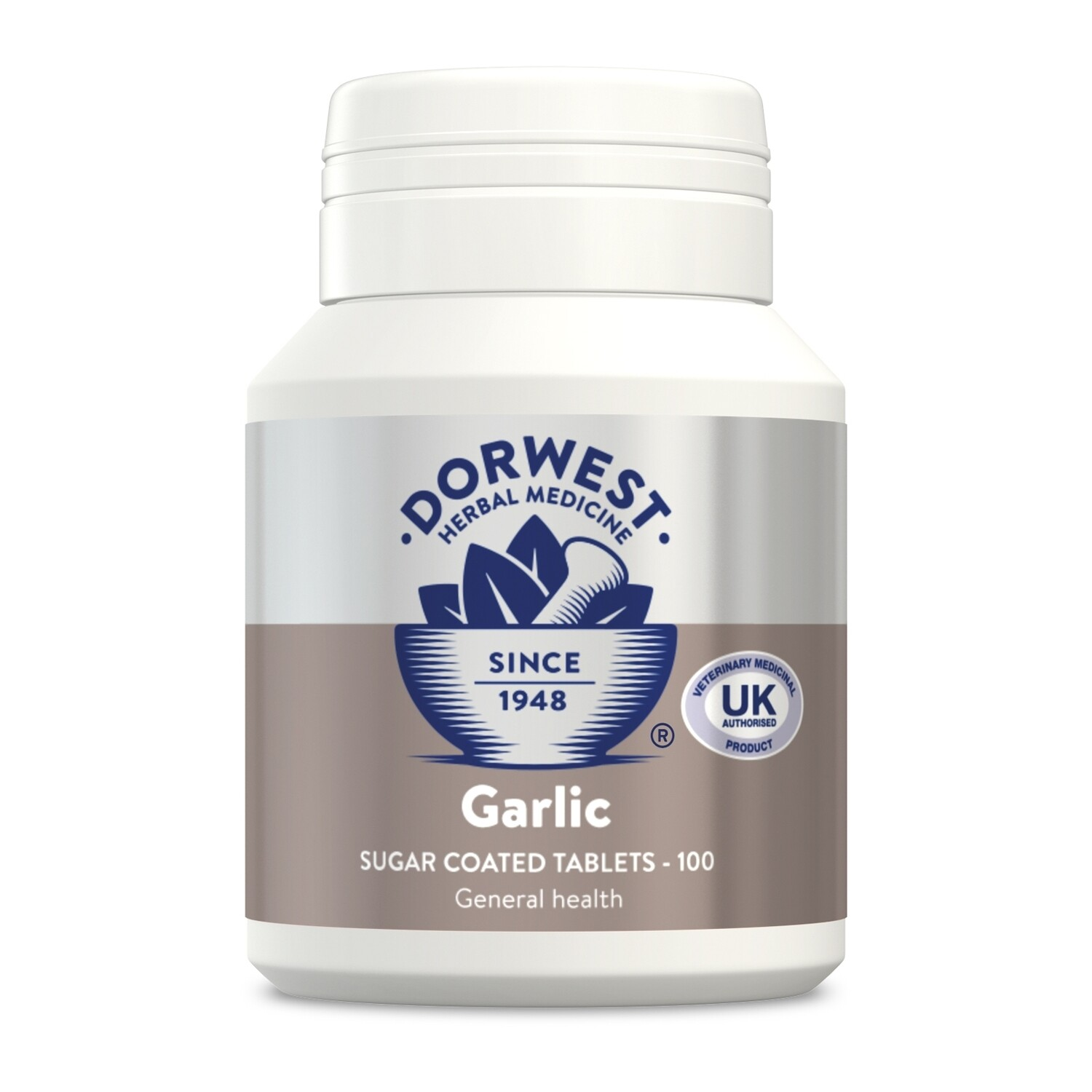 Dorwest Herbs Garlic Tablets For Dogs And Cats (100)