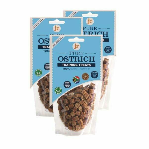 Pure Ostrich Training Treats 85g