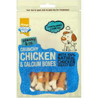 Good Crunchy Chicken Calcium Bones 100g
