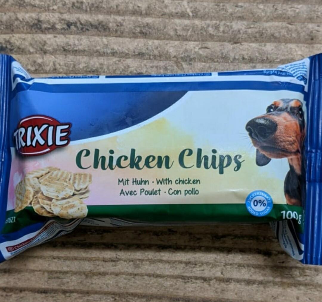 Trixie Chicken Chips 100g