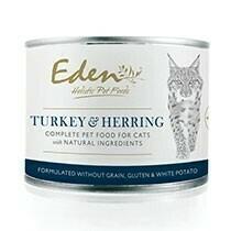 Eden Cat Turkey and Herring 200g