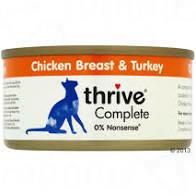 Thrive Chicken and Turkey 75g