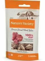 Nature's Variety Freeze Dried Beef Bites (20g)