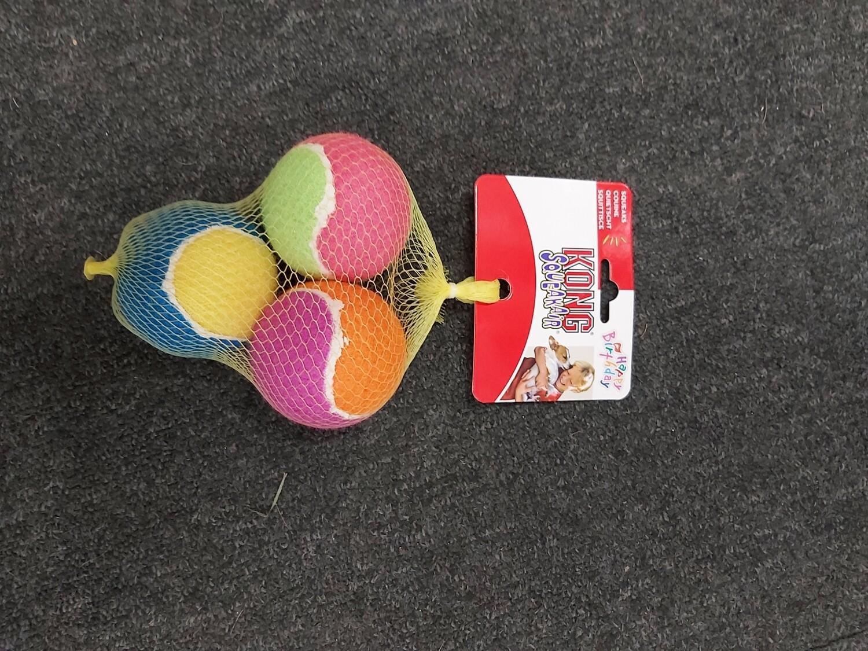 Happy Birthday Kong SqueakAir Ball's 3 pack