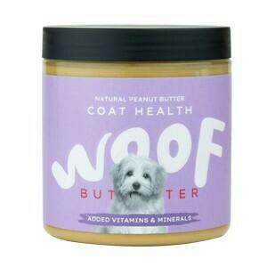 Woof Butter Peanut Butter: Coat Health 250g