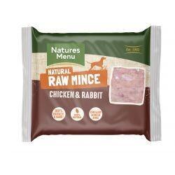 Natures Menu Chicken & Rabbit 400g Mince
