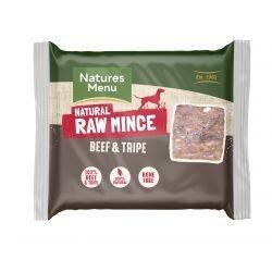 Natures Menu Beef & Tripe Mince 400g