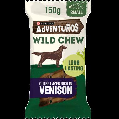 Adventuros Wild Chew Small venison Dog Chew