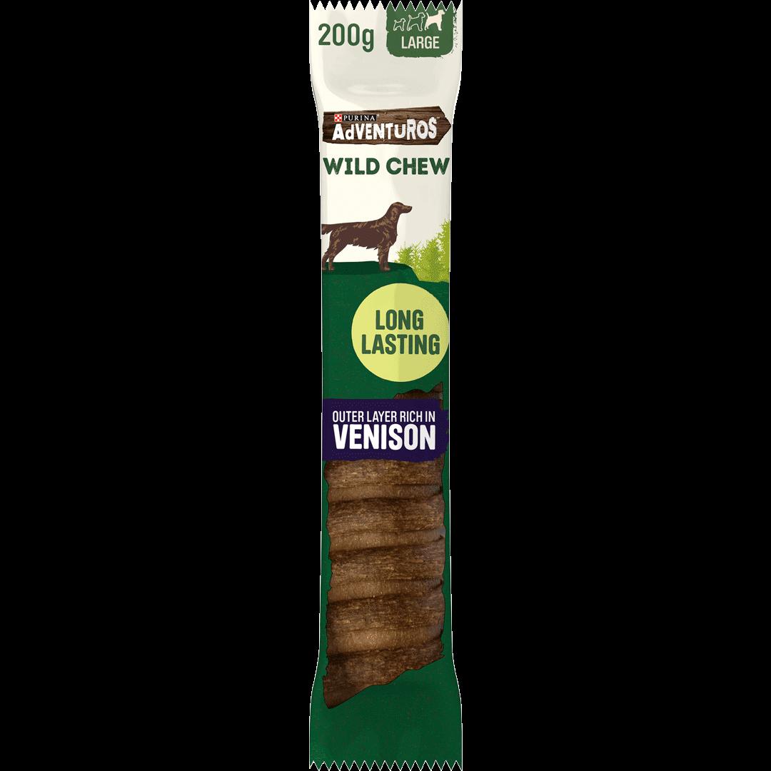 Adventuros Wild Chew Large Venison Dog Chew
