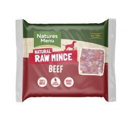Natures Menu Just Beef Mince 400g