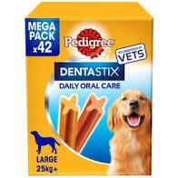 Pedigree Denta Stix Large 42 Pack **SPECIAL PRICE**