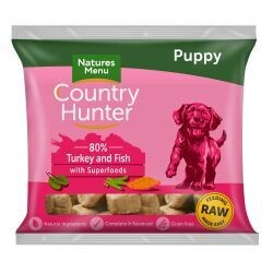 Country Hunter Puppy Nuggets Turkey & Fish with Superfoods 1kg