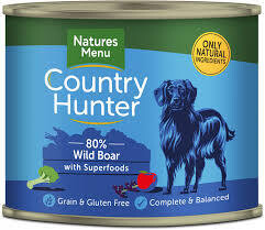 Country Hunter Wild Boar with Superfoods 600g