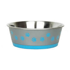 Hybrid paw bowl blue 700ml