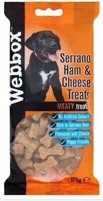 Webbox ham & cheese treats 175g