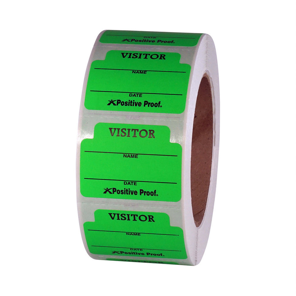 Visitor Stickers