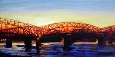 Glowing Bridge