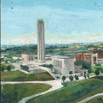 Liberty Memorial Aerial View