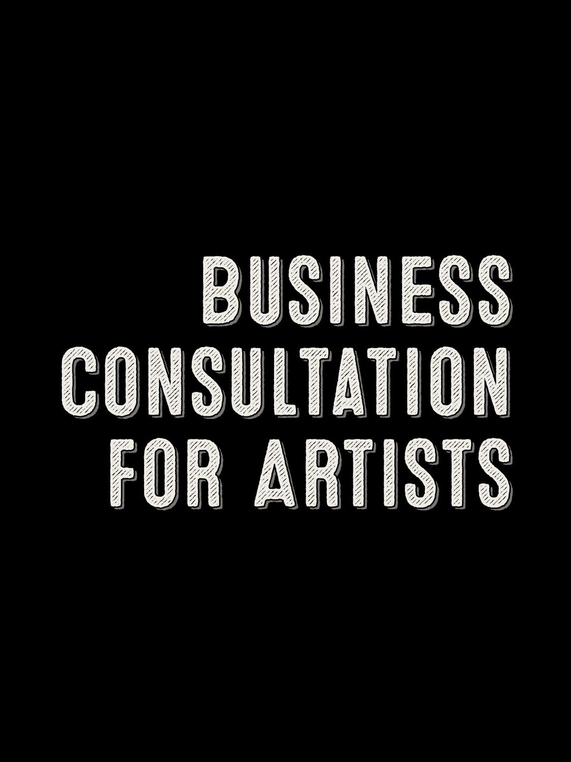 Business Consultation for Artists