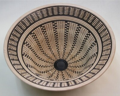 Basket of illusion open vessel #16