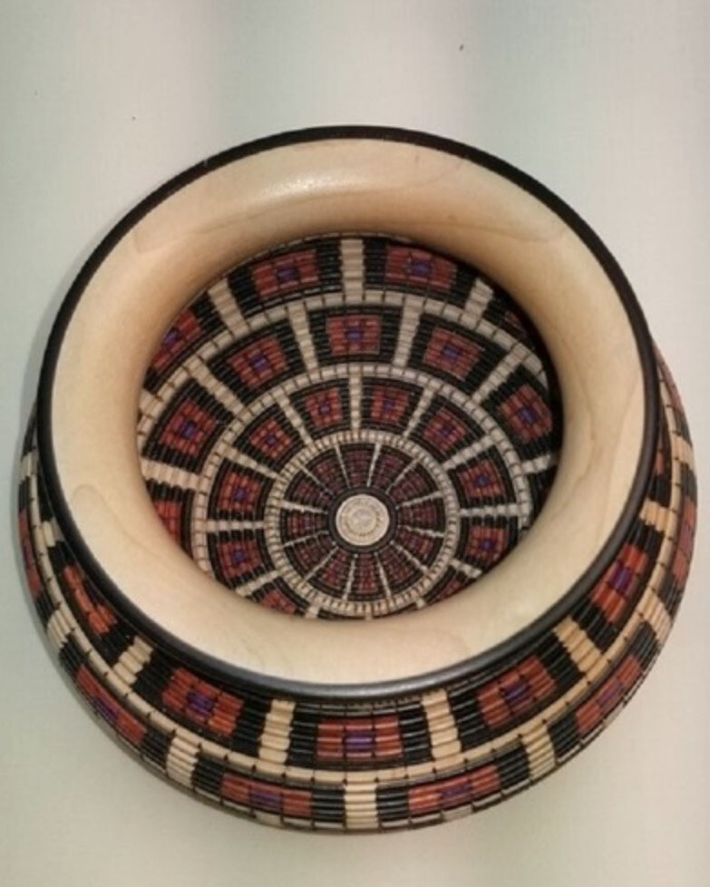 Open Basket of Illusion Vessel #16