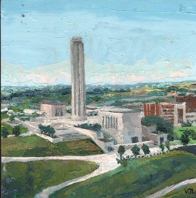 Liberty Memorial, Arial View