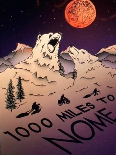 '1000 Miles to Nome' DVD