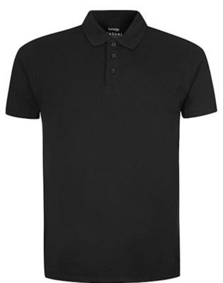 Black Instructors Polo Shirt