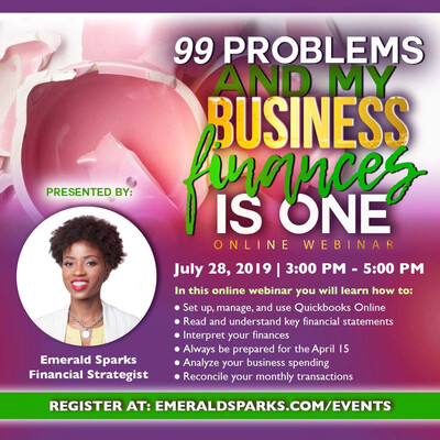 99 Problems and My Business Finances Is One