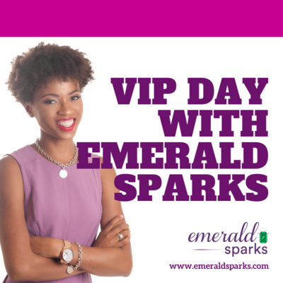 VIP Day With Emerald Sparks