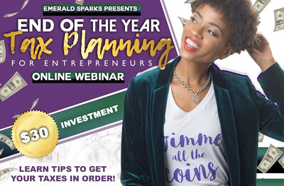 Year End Tax Planning For Entrepreneurs