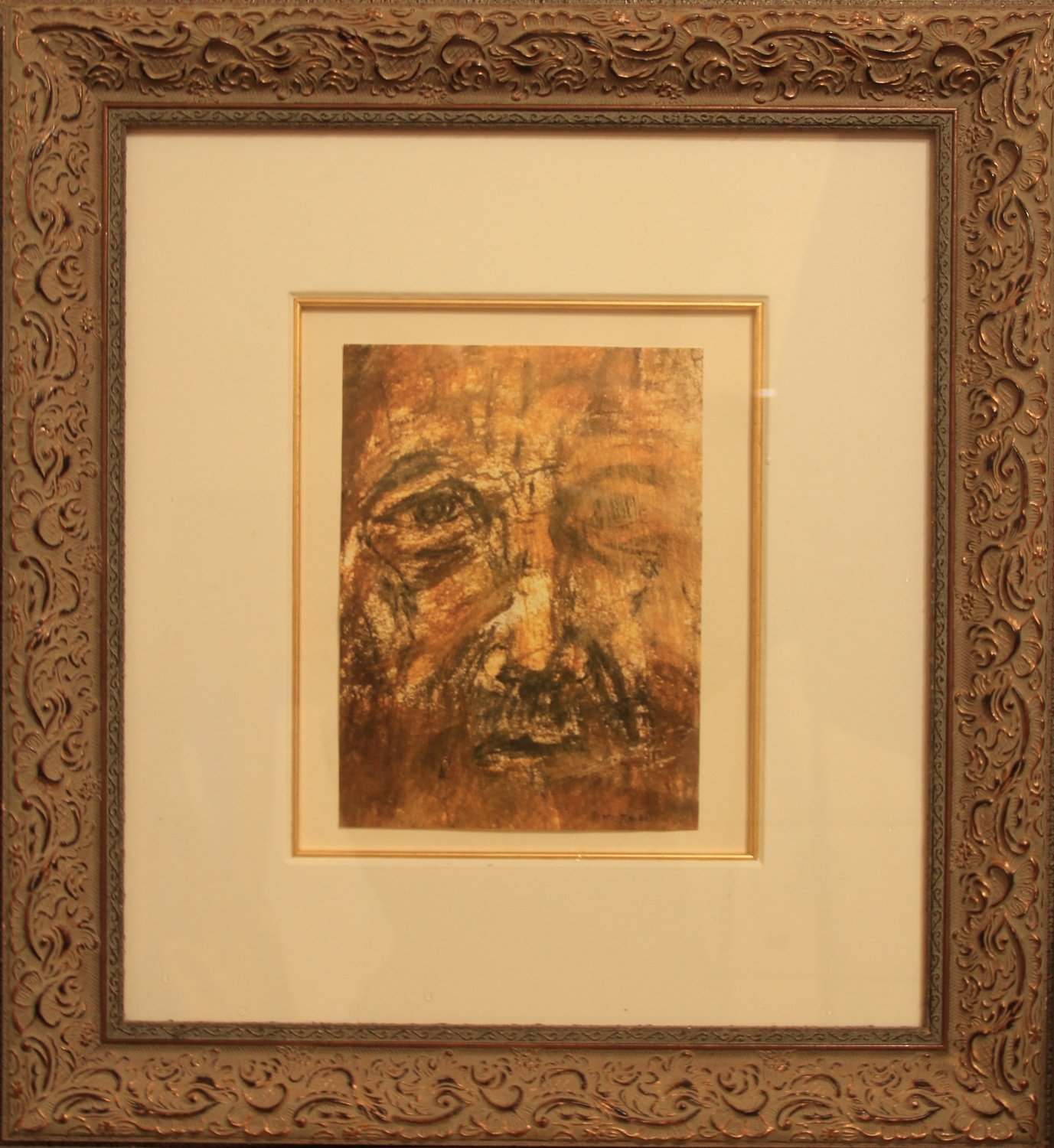 The Old Fisherman -- Museum-Framed  Signed Prints Limited Edition