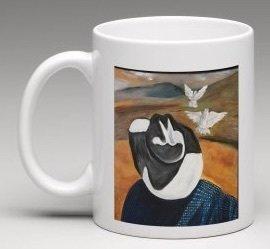 Dos Palomas Blancas Mug
