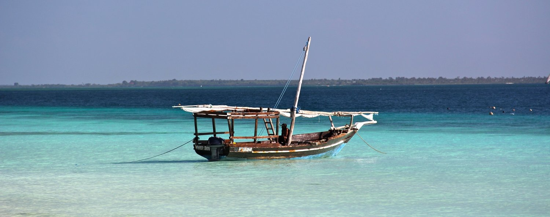 Signed Print: Zanzibar Dhow