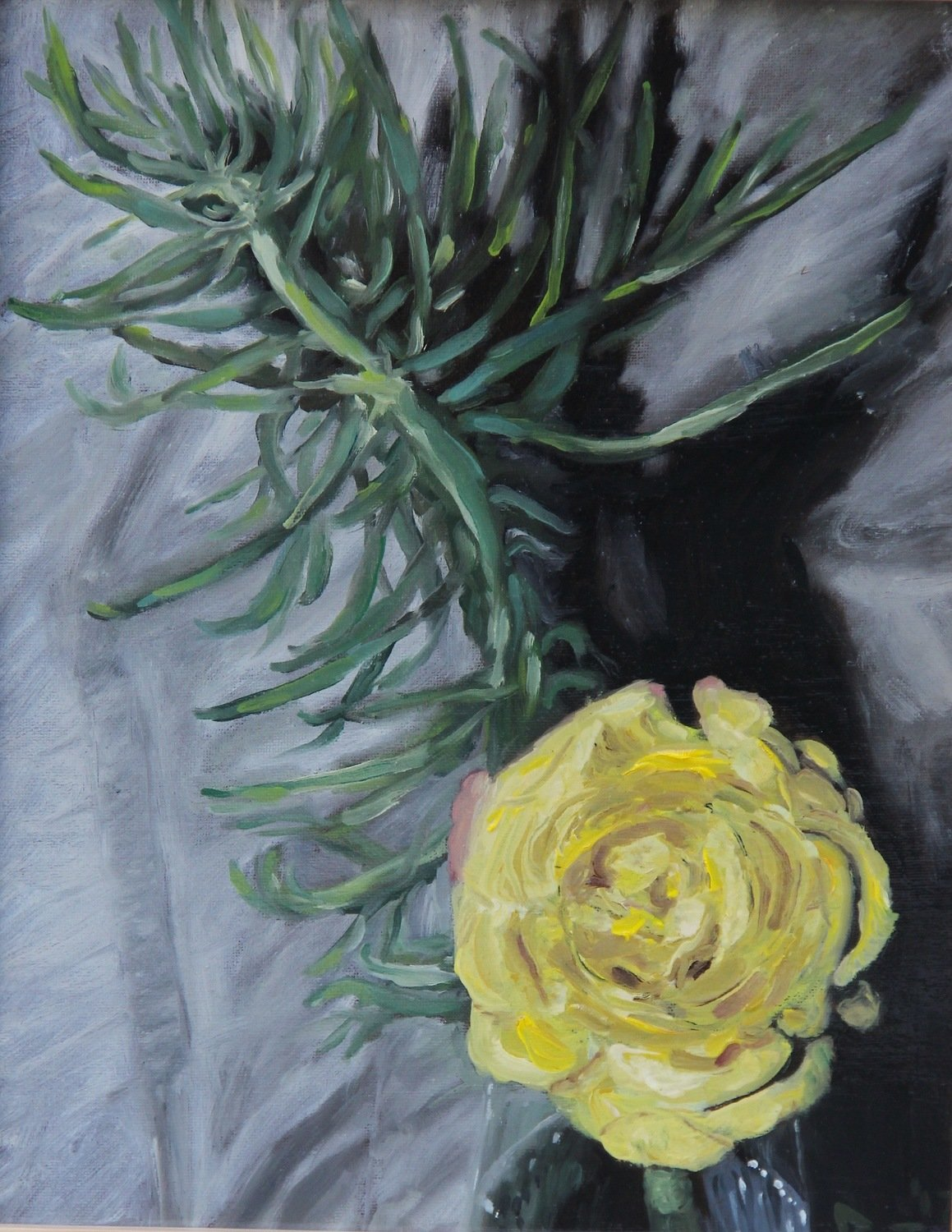 Yellow Rose: Signed Print