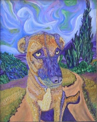 Pet Portraits -- Make Your Pet Famous! Unframed.
