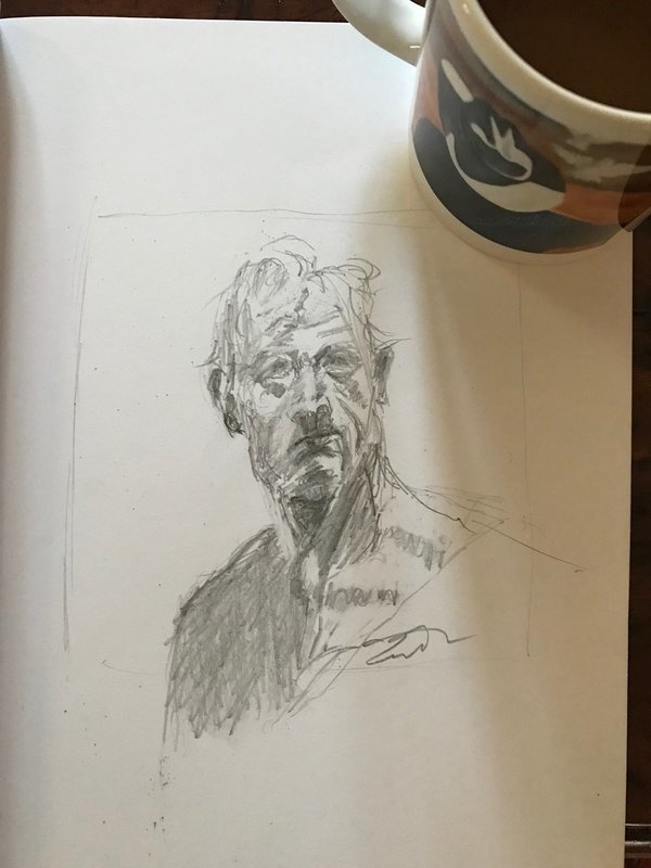 Coffee And A Sketch: The Seeker