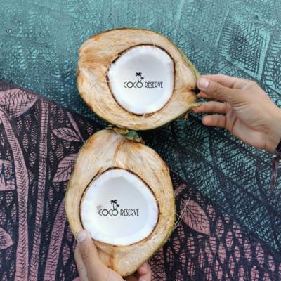 Fresh Coconuts, 8-9 Months Mature, Organic - Box of 4