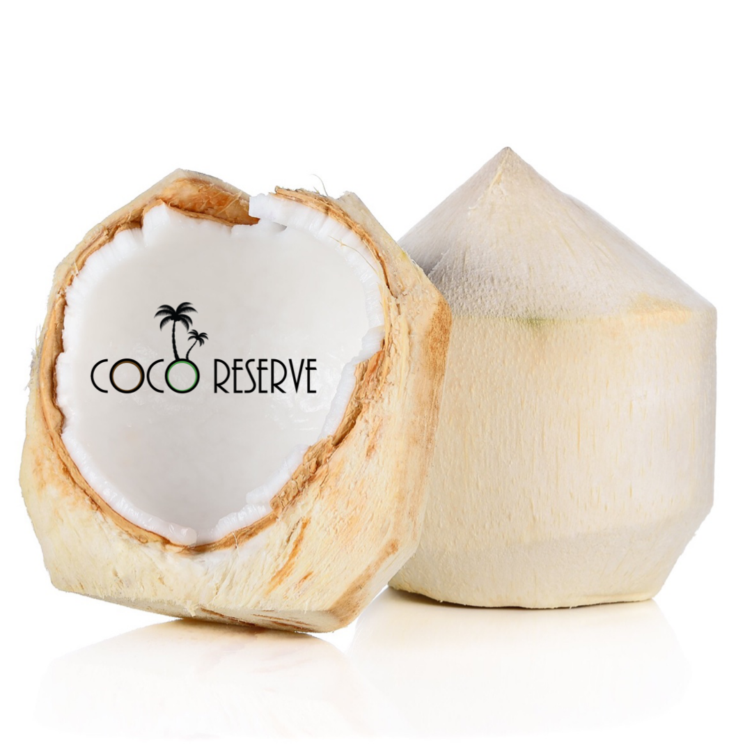 Young Fresh Shaved Coconut (Thai) - Box of 10