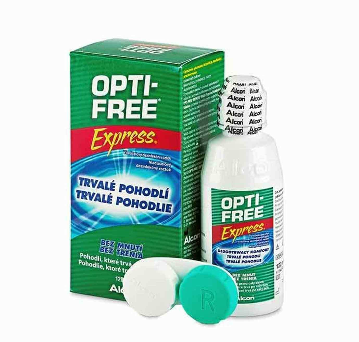 OPTIFREE 120ML