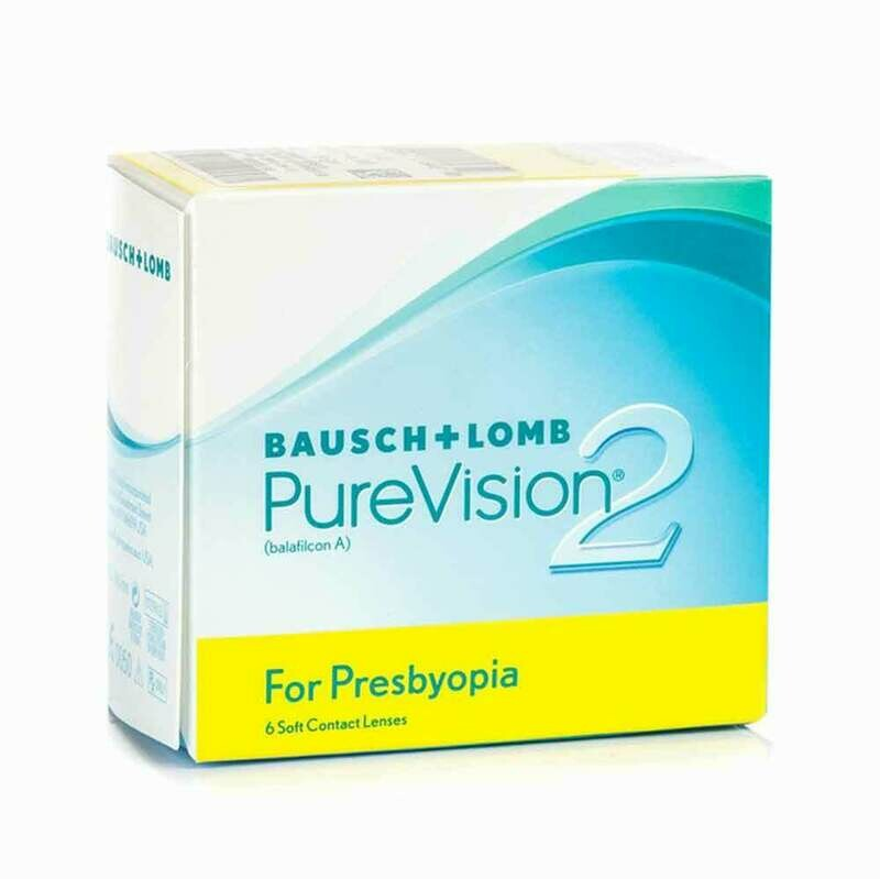 PURE VISION 2  Multi focal Monthly Lens 6 Pc