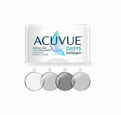 ACUVUE OASYS TRANSITIONS Bi Weekly Lens 6 Pc